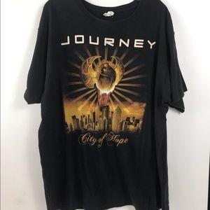Journey City of Hope Tour T-shirt SZ L